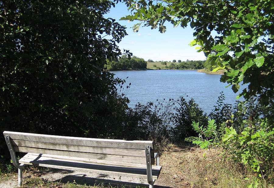 Relax and view the northern section of Walton Lake.