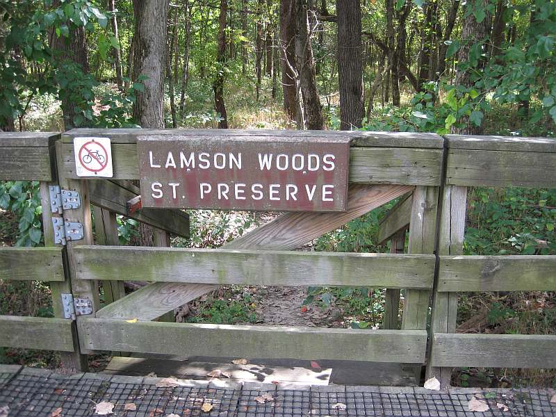 Along the Lamson Woods Trail