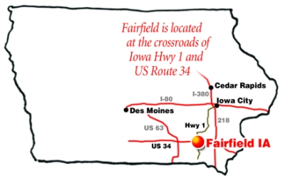 Home Page Trails in Fairfield, Jefferson County, Iowa