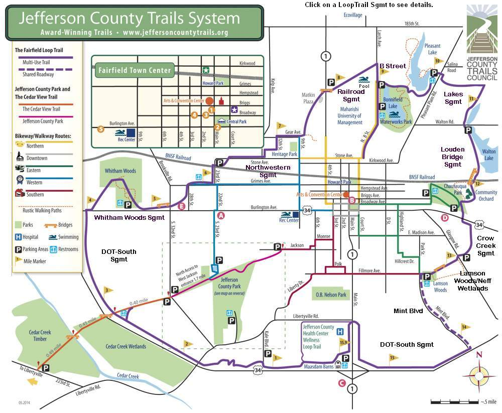 Map - Jefferson County Trails System